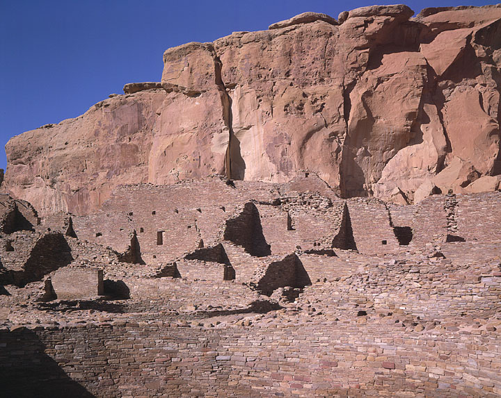 Pueblo Bonito Chaco Canyon NHP NM USA